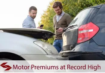 motor insurance premiums at record high