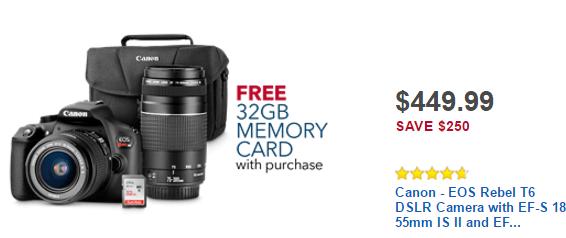 Canon-EOS-Rebel-T6-DSLR-Camera-for-549-Black-Friday-DoorBuster-Sale-2016