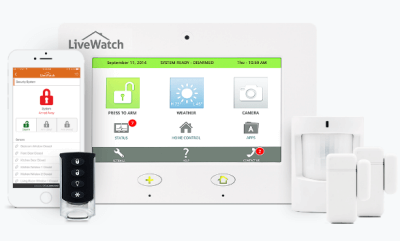 livewatch no contracy home security system black friday