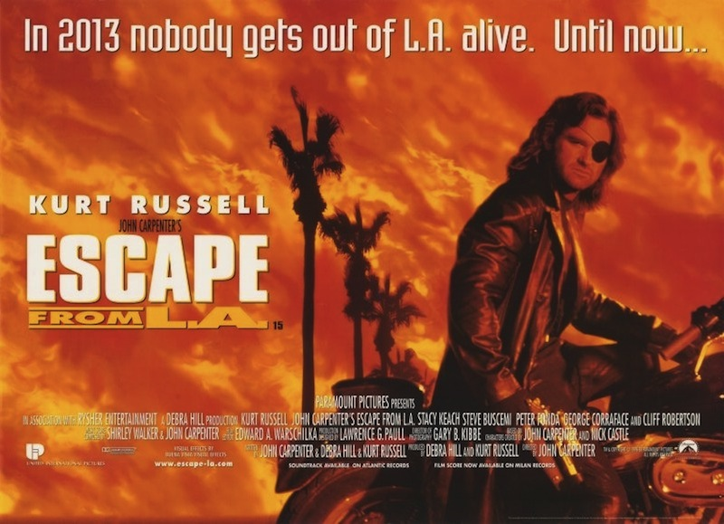 Black Gate » Articles » The Complete Carpenter: Escape From L.A. ...