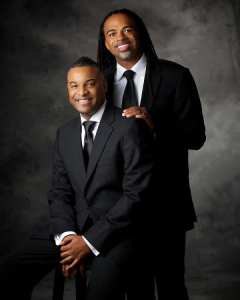 Black Gay Couples: Oliver Clyde Allen and Rashad Burgess