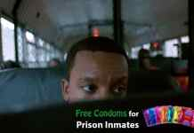 free condoms for prison inmates