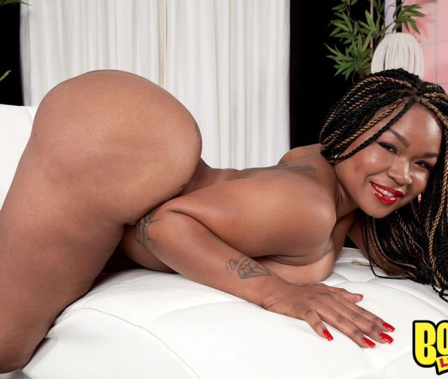 Naked Big Booty Black Lady