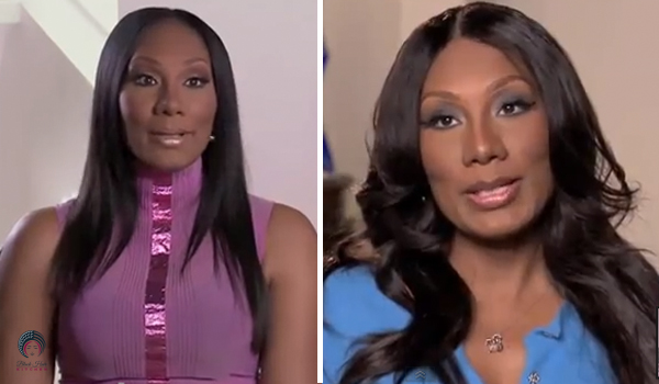 Towanda's hair looks from Braxton Family Values