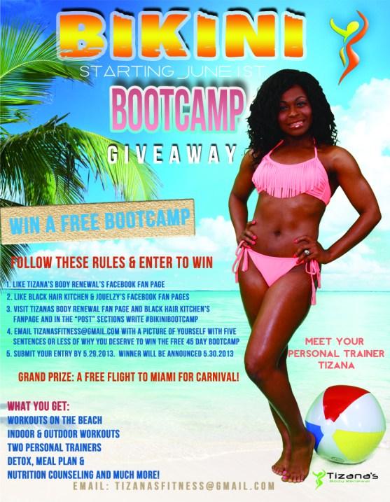Bikini Bootcamp giveaway BHK