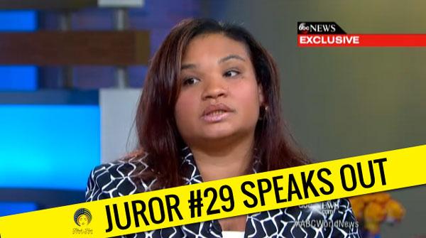Trayvon Martin/George Zimmerman Juror B29 Interview