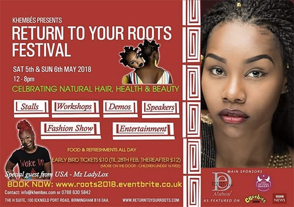 Return To Your Roots Festival May 5th 6th 2018