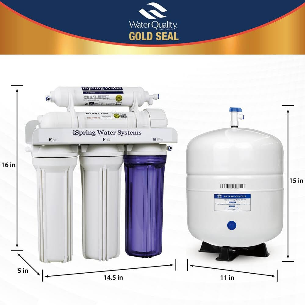 Ispring reverse osmosis system 5 stage under sink water filter review click here to buy the ispring rcc7 water filter 1betcityfo Choice Image