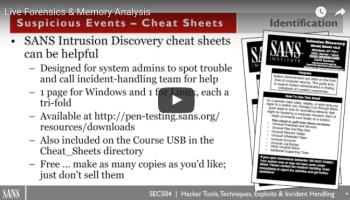 WEBCAST: Windows Memory Forensics - Black Hills Information Security