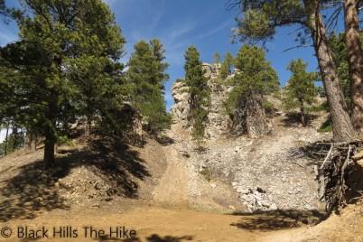 Base of White Rocks (White Rocks)