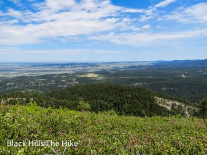 The view from the top of Crow Peak in Spearfish, SD