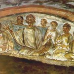 Black Jesus Christ with Black Disciples and Apostles