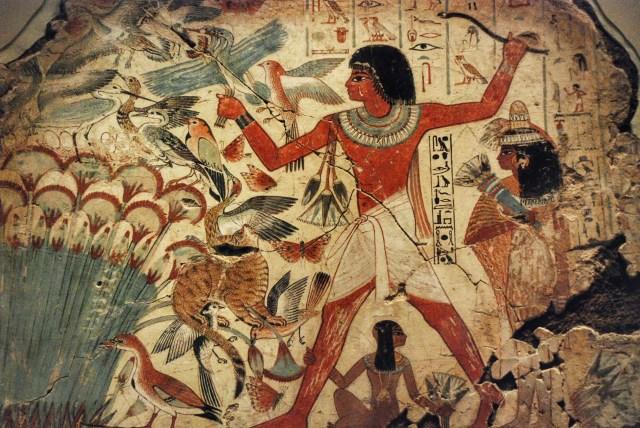 Egyptian Hunting Birds