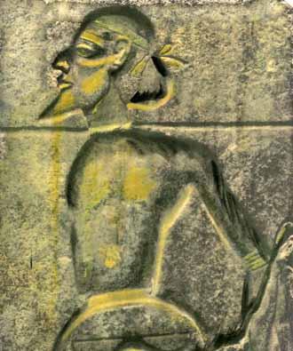 Canaanite's Had Black Facial Features