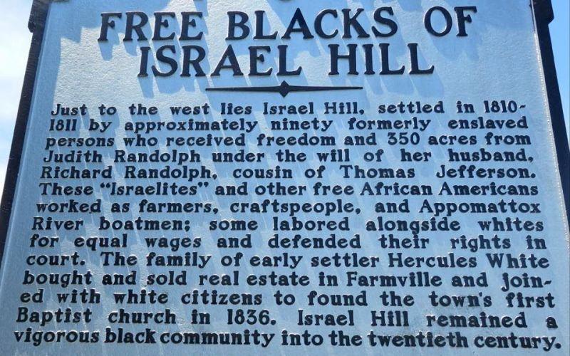 Free Blacks of Israel Hill