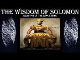 Wisdom of Solomon 14 (KJV)