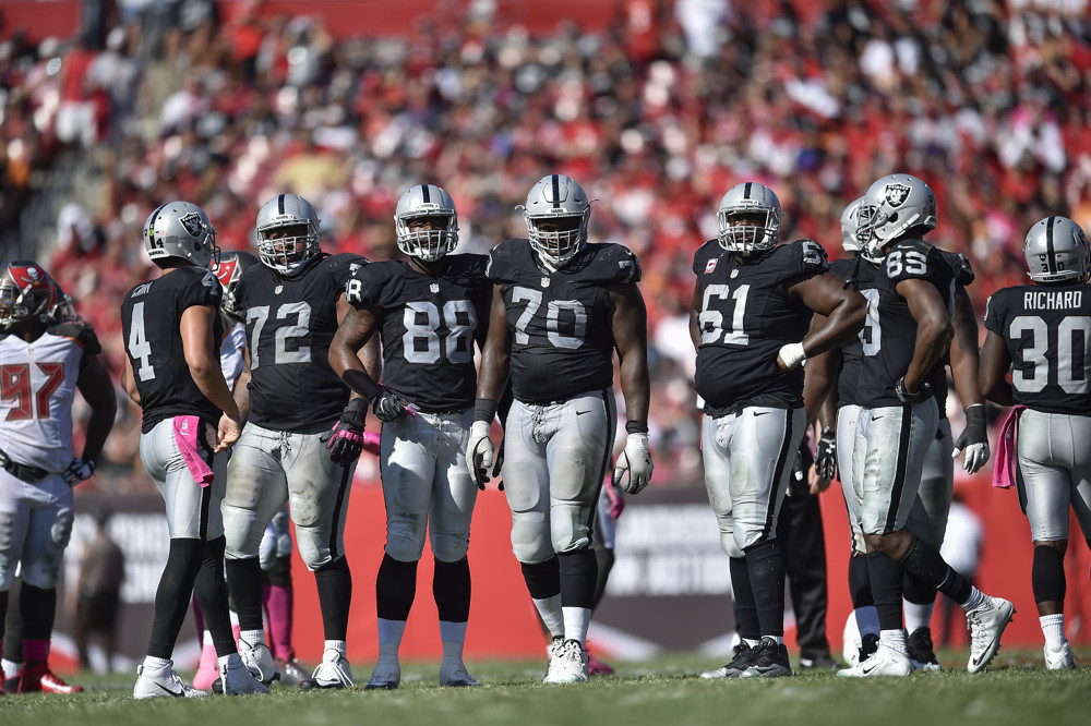 Top reasons for excitement and concern from Raiders camp so far