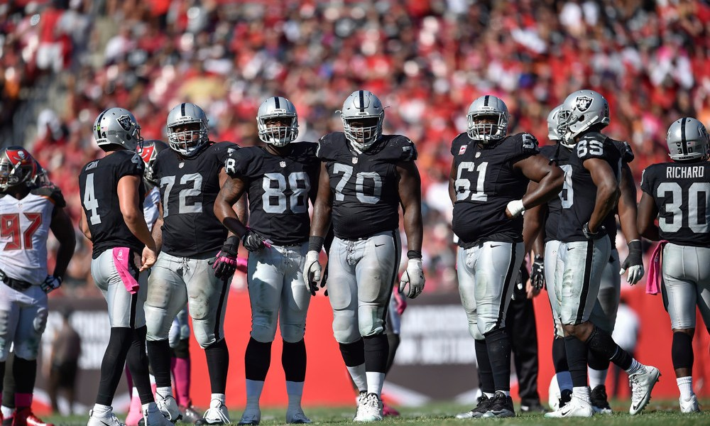 Where does Rodney Hudson fit in the list of greatest Raiders centers?