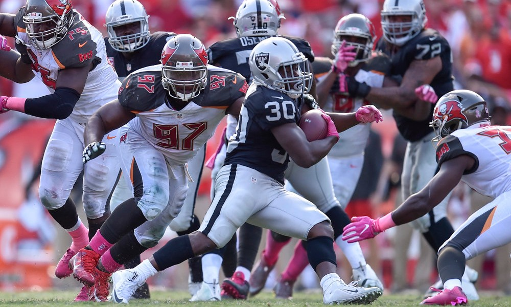Raiders running backs might be competing to not get traded