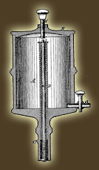 Elijah McCoy's patent for an improvement for lubricators for steam engines.