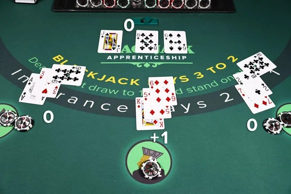 Blackjack Card Counting Example 3