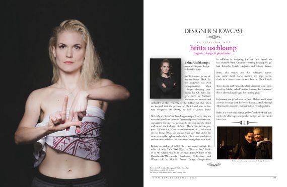 black label magazine, black label beauties Nude Art Magazine, sexy photography, nude woman, erotic, Black Label Beauties, lingerie, naked, erotic art, Britta Uschkamp,