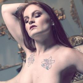 nude art magazine, Black Label Magazine, lingerie, Lise Charmel, sexy, boudoir images, Veruca Dulce