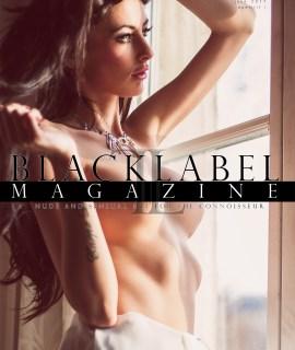 Kiki van Hees, micromag, Black Label Magazine, nude art magazine