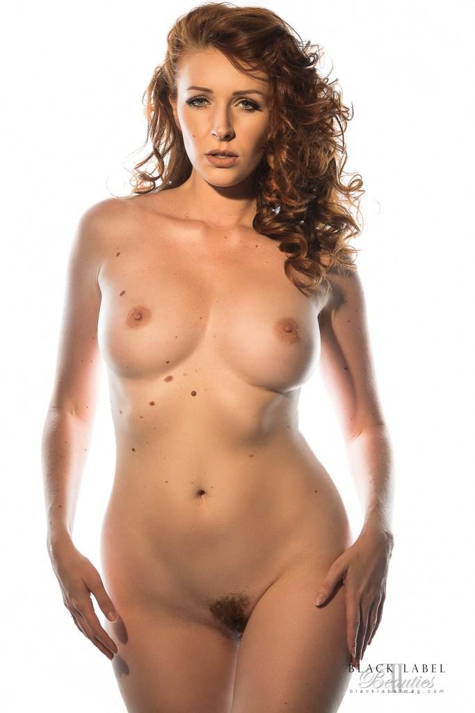 busty, big tits, hairy pussy, redhead, sexy nude girl, dane halo, black label magazine