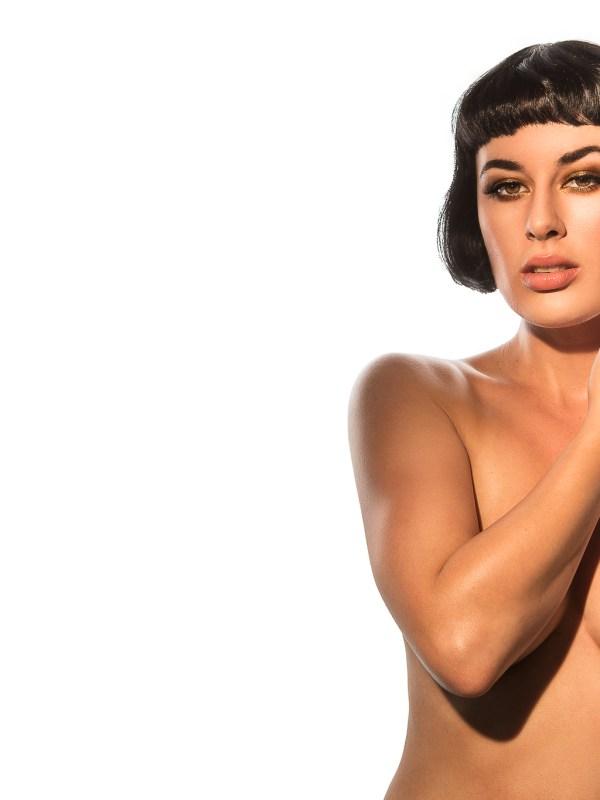 nude art, naked women, Olive Glass, Black Label Magazine