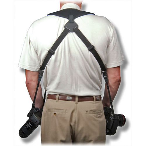 """OP/TECH USA Dual Harness 3/8"""" Cord Version (Regular)"""