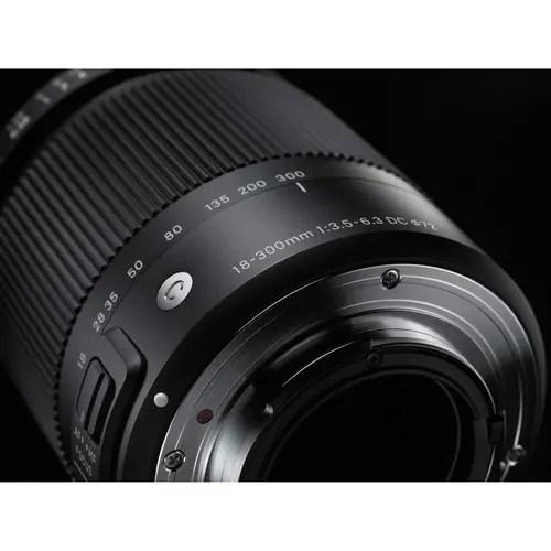 Sigma 18-300mm f/3.5-6.3 DC Macro OS HSM Contemporary Lens