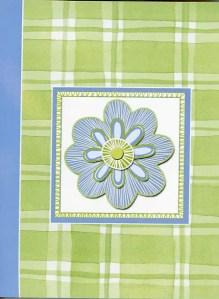 Floral Green-Blue