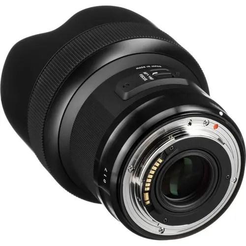 Sigma 14mm f/1.8 DG HSM Art Lens