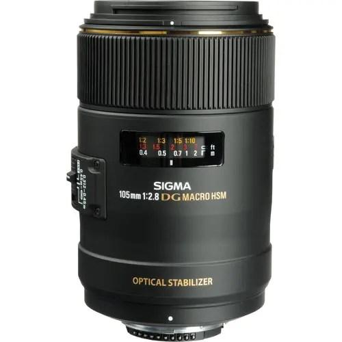 Sigma 105mm f/2.8 EX DG OS HSM Macro Lens