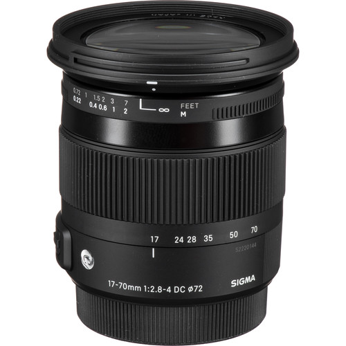 Sigma 17-70mm f/2.8-4 DC Macro HSM Contemporary Lens