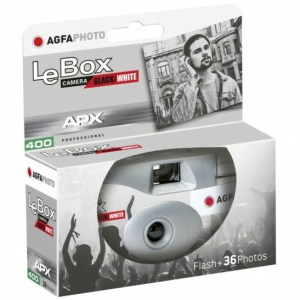 "AGFAPHOTO LeBox 400 / 36 exp. ""Black/White"" Disposable Camera"