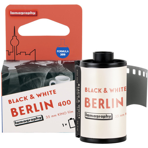 Lomography Berlin Kino 400 Black and White Negative Film