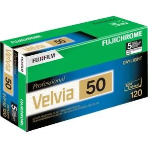 FUJIFILM Fujichrome Velvia 50 Professional RVP 50 Color Transparency Film