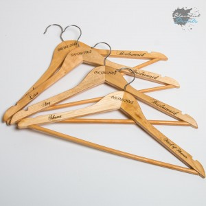 Blacklist Prints-Personalised Wedding Coat Hangers