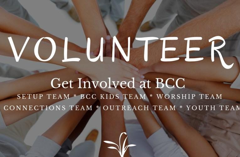Volunteer At BCC
