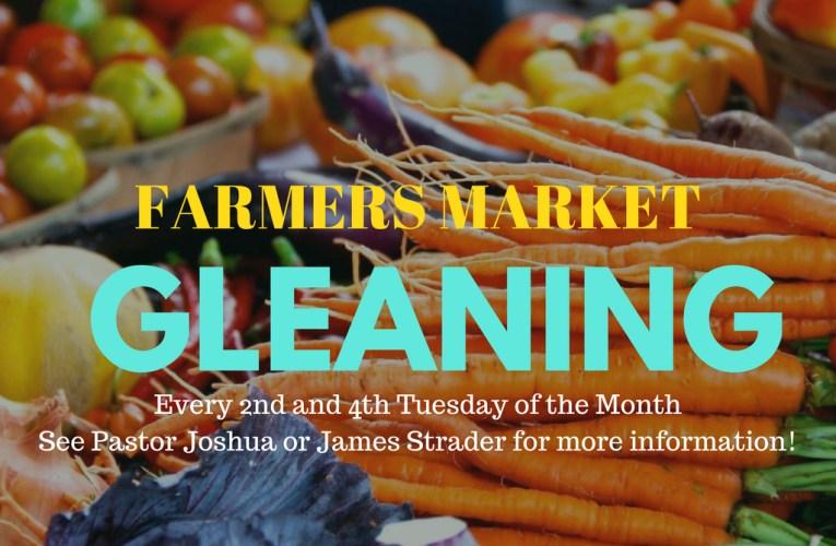 Farmers Market  Gleaning