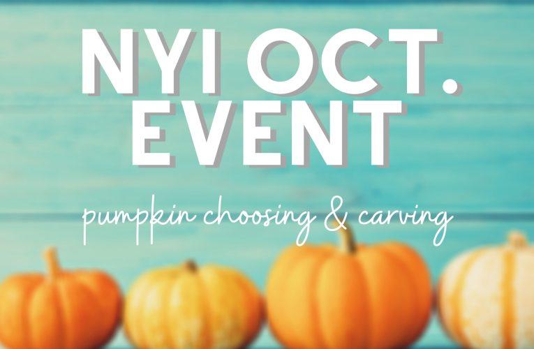 NYI Pumpkin Carving Event
