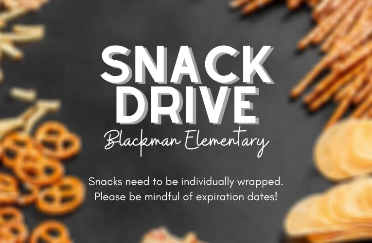 BLE Snack Drive: All Of December
