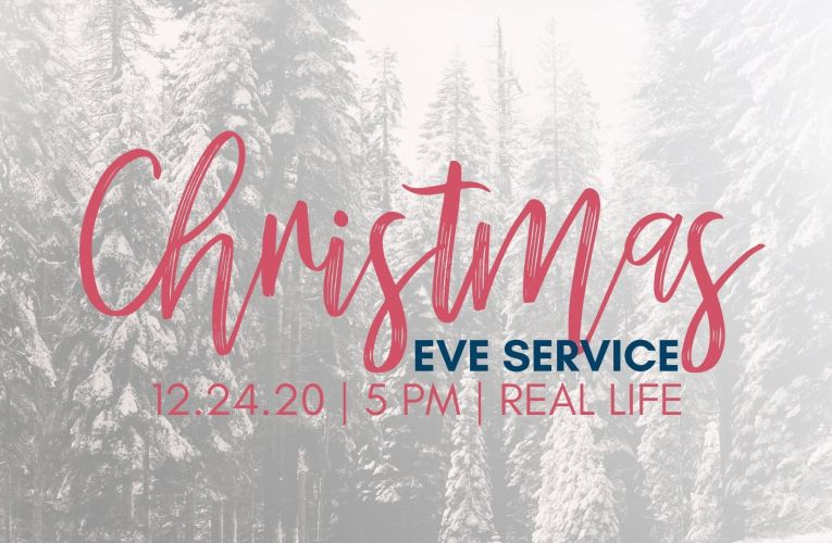 Christmas Eve Service: Virtual Only