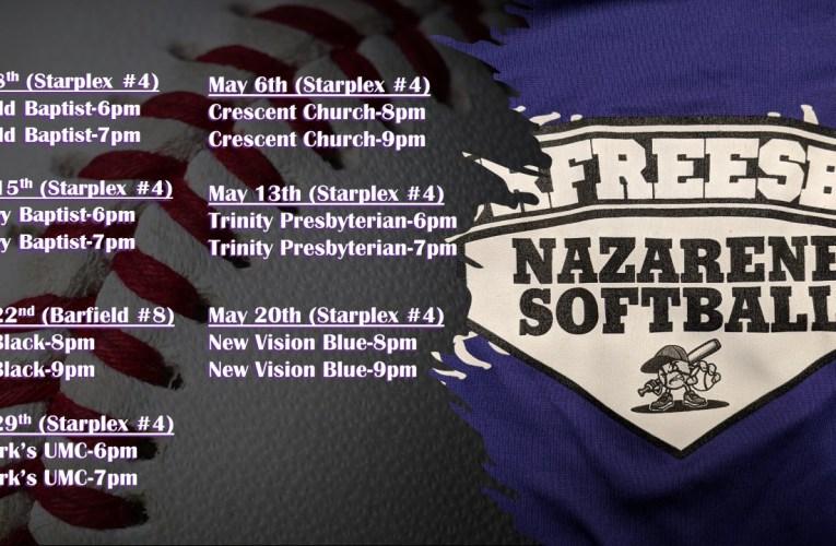 2021 Murfreesboro Naz Softball Schedule
