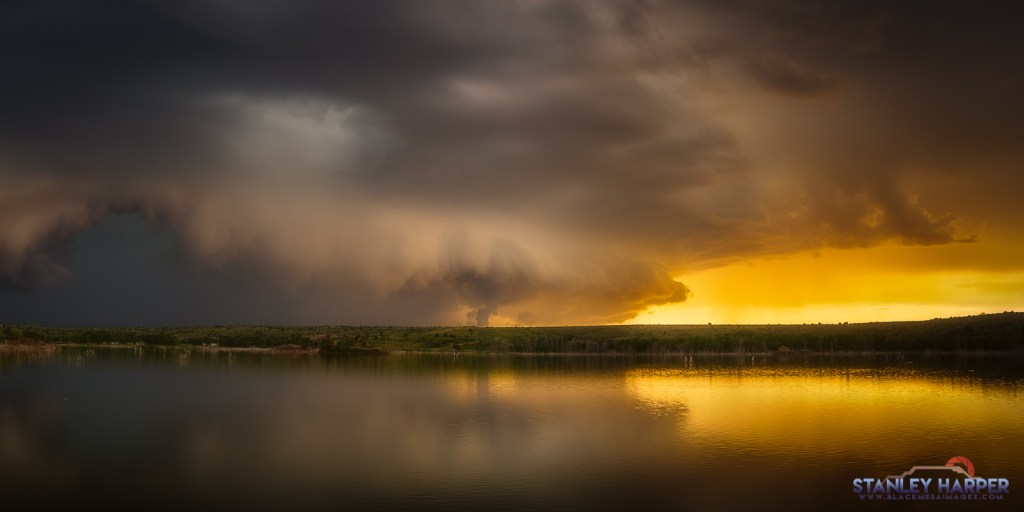 Lake Etling Shelf Cloud
