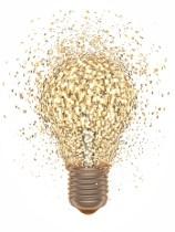 Lightbulb - signifying business model innovation