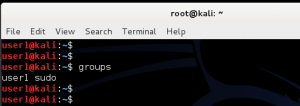 How to add remove user - Standard usernon-root - in Kali Linux - blackMORE Ops -10