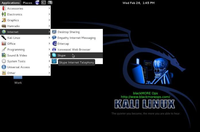 13 - Install Skype in Kali Linux - Run Skype - blackMORE Ops